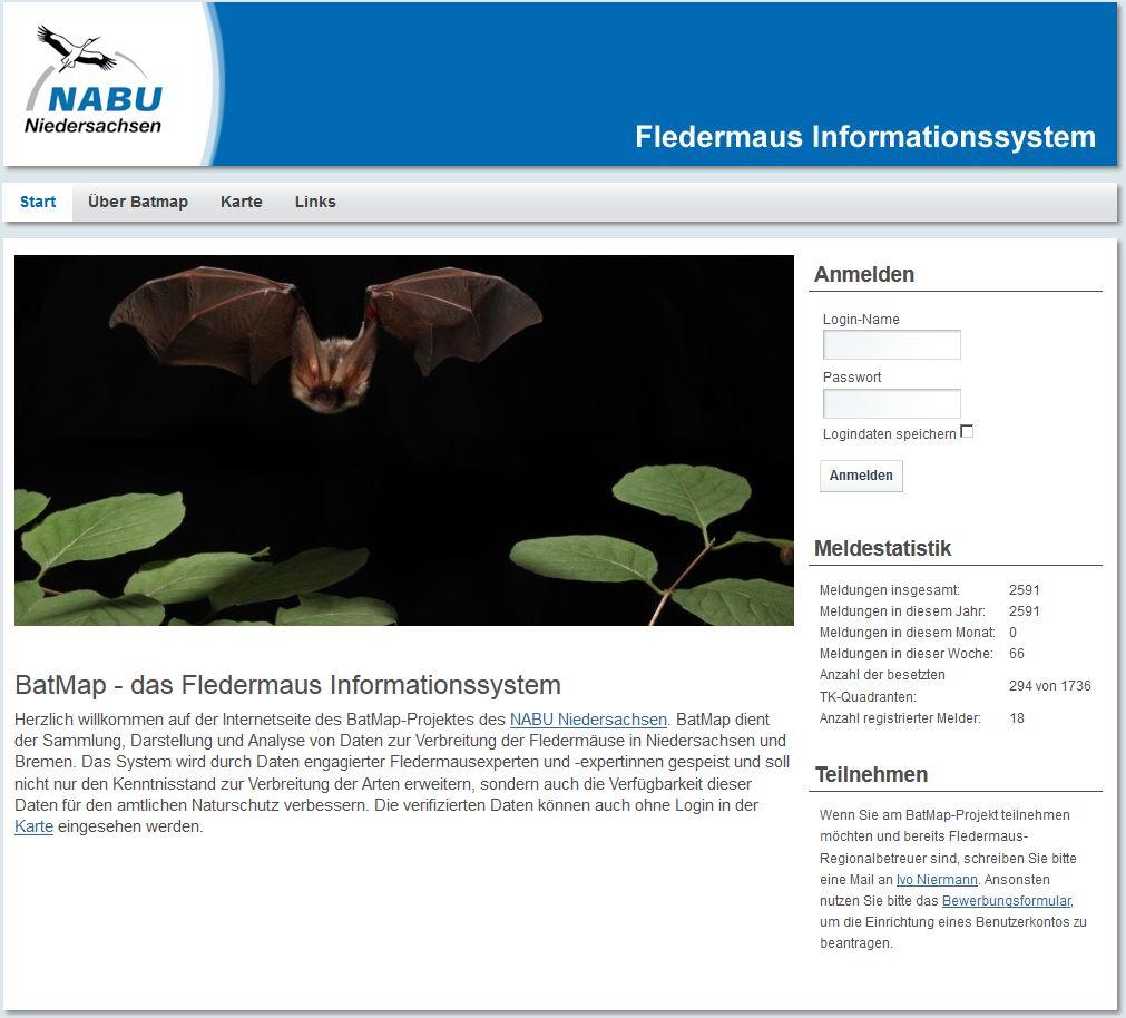 BatMap - NABU Niedersachsen
